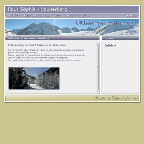 Haus Sophie (ging nie Online)