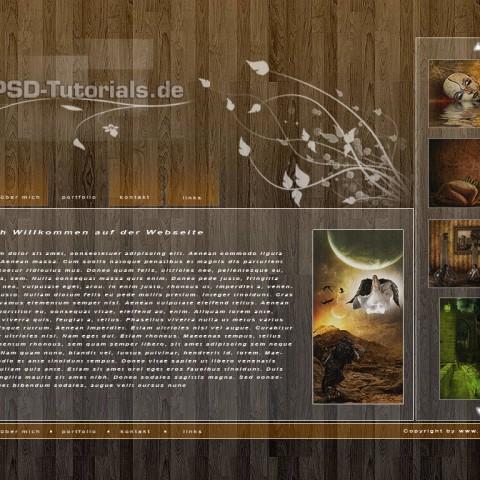 PSD-Webseiten-Video Tutorial