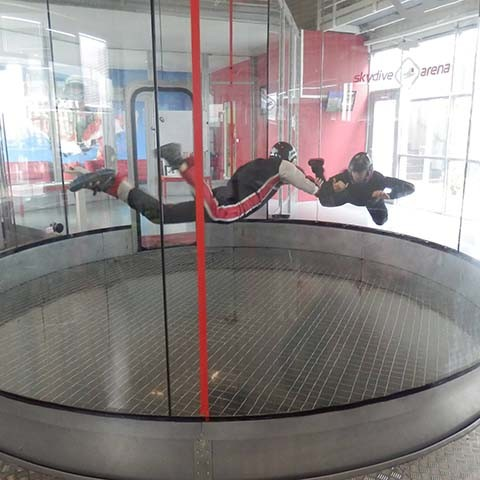 Indoor Skydiving Prag