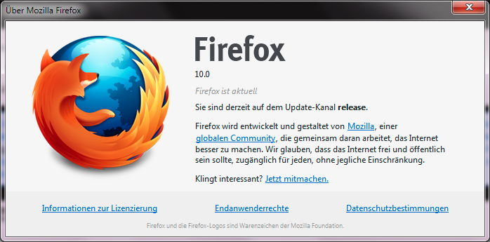 Mozilla Firefox | Helle's Portfolio – Server und Client