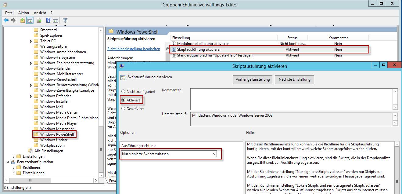 Gruppenrichtlinie | Helle\'s Portfolio – Server und Client Howtos ...