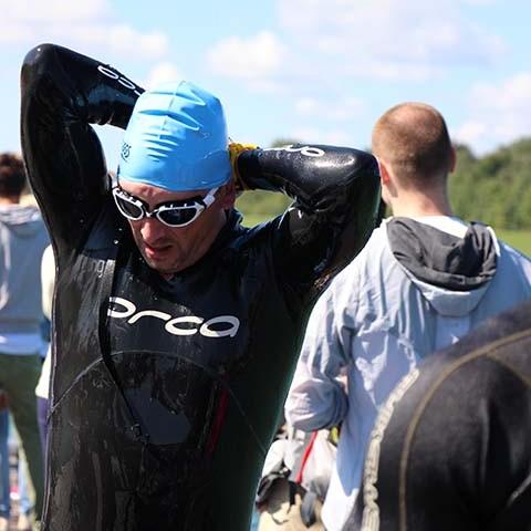 3MUC Triathlon München Schwimmen