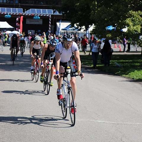 3MUC Triathlon München Radfahren