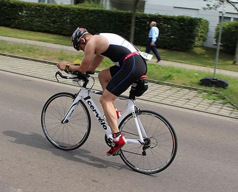 Leipzig Triathlon 2014 Radfahren