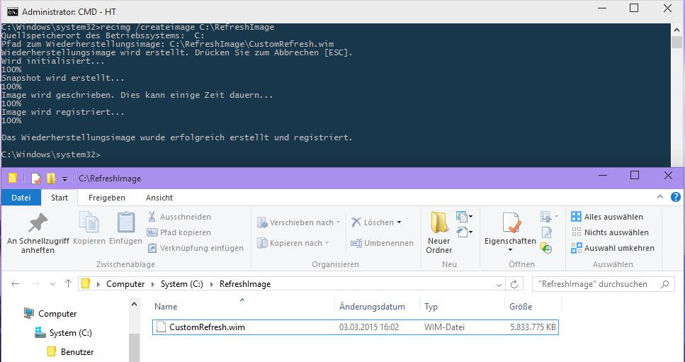 kommandozeile windows 10 befehle